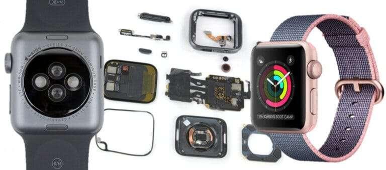apple watch 3 scherm herstellen