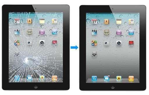 iPad scherm glas vervangen